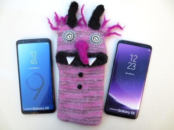 Xl Handyhulle Dominik Handy Smartphone Tasche Monster Gefilzt Samsung Galaxy A5 Samsung Galaxy S8 S9 J5 Sony Xperia Z5 Xz Smartphone Tasche Smartphone Handy