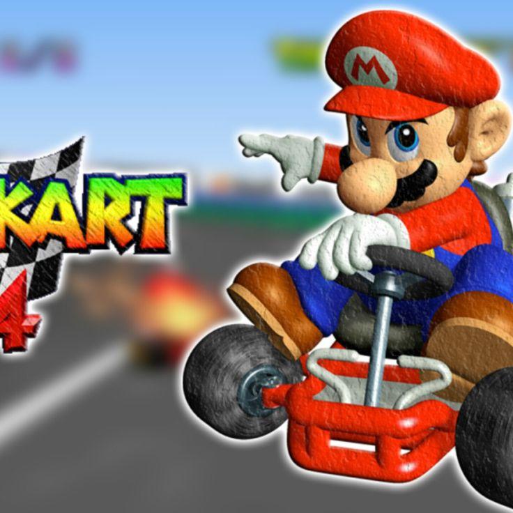 BACK IN STOCK - Mario Kart 64 #EtsyGifts #retrogaming #etsy #nintendo #supermario #Nes #GamerGifts #pokemon #GamersUnite