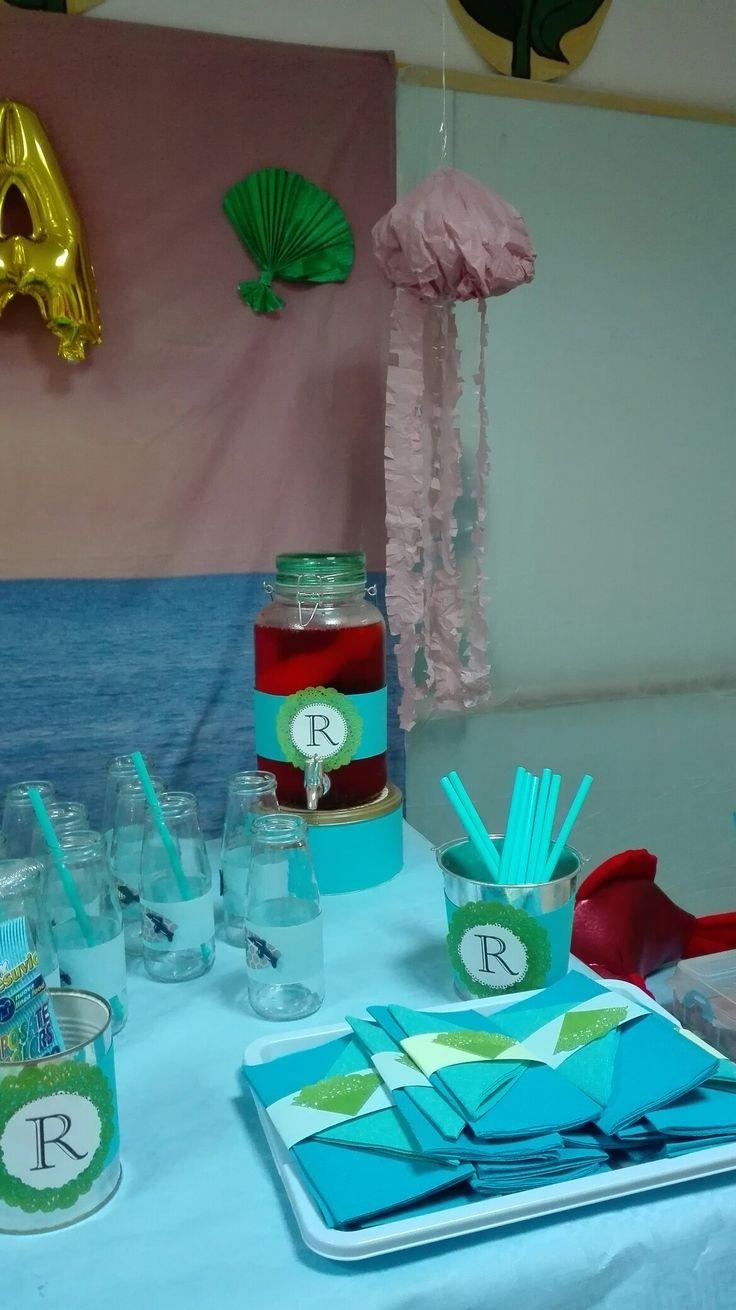 Under sea party