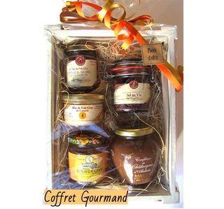 COFFRET GOURMANDISE DE L'ARDECHE