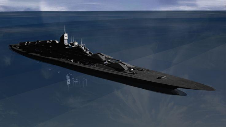 futuristic battleships | something im trying out.. tell me ... Modern Us Battleship Design