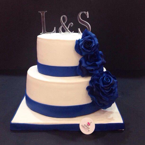 Dark Blue / Engagement Cake
