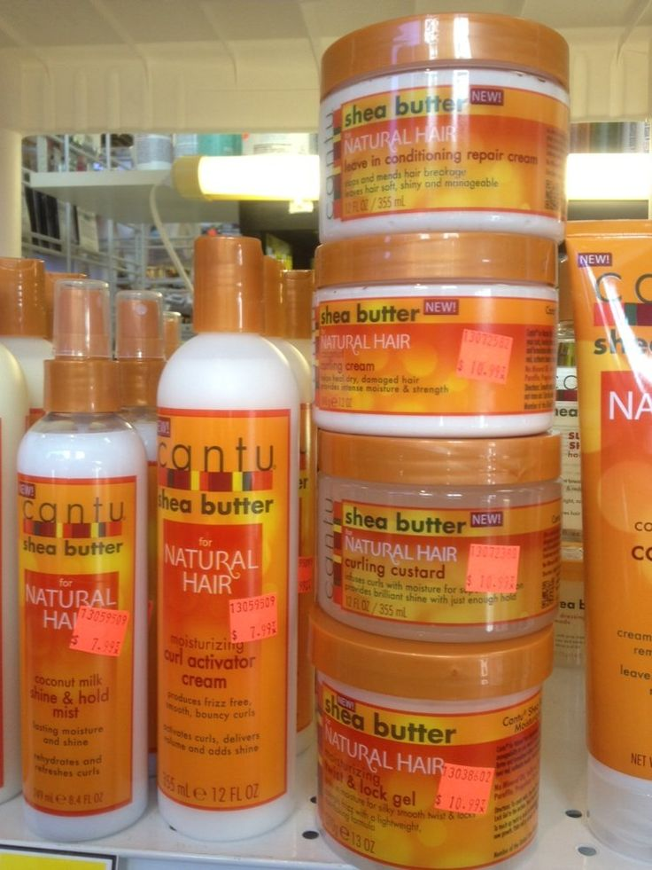 """Cantu products for natural hair 