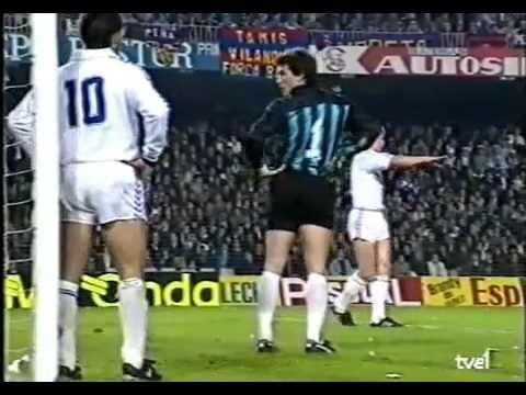 FC Barcelona - Real Madrid 2-0. Final Copa del Rey 1990