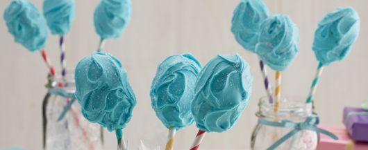 Recipe: Cotton Candy Cake Pops