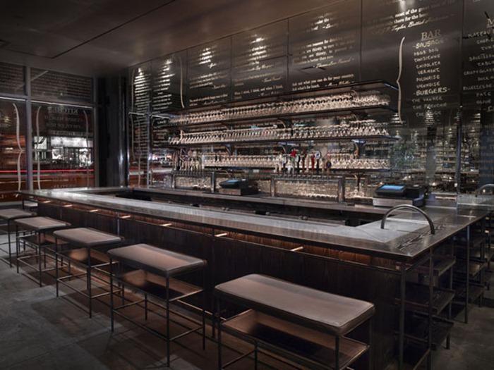 Award winning dbgb kitchen and bar in new york