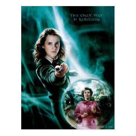 <b>Hermione Granger and</b> Professor Umbridge Postcard | Zazzle.com в ...