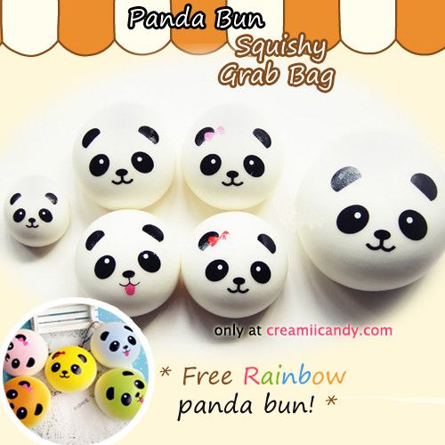 Do you love super squishy, slow-rising, yummy popcorn scented cute panda buns? Then this is the perfect set for you! An assortment of the cutest panda buns that look so delicious and smell so good ~ Panda buns are one of the most popular squishys, so grab this set for yourself or your friends!