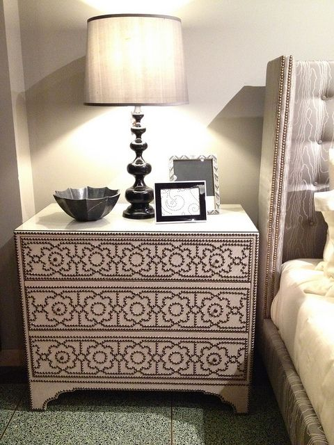 Studded Dresser Diy It Furniture Ideas Pinterest Upholstery Nail Head And Upholstery Tacks