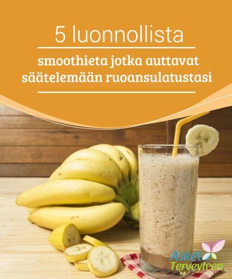 5 luonnollista smoothieta jotka auttavat säätelemään ruoansulatustasi Näiden #herkullisten kotitekoisten #smoothieiden ominaisuudet rohkaisevat #ruoansulatusta ja suoliston liikettä. #Reseptit