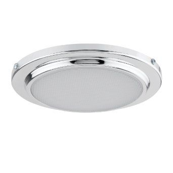 Globe electric 90037 5 inch recessed shower light fixture for Bathroom light fixtures amazon