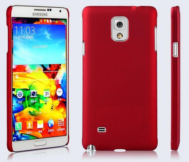 Rubber Plastic Θήκη Πλαστική Κόκκινη (Samsung Galaxy Note 4) - myThiki.gr - Θήκες Κινητών-Αξεσουάρ για Smartphones και Tablets - Πλαστική Κόκκινη