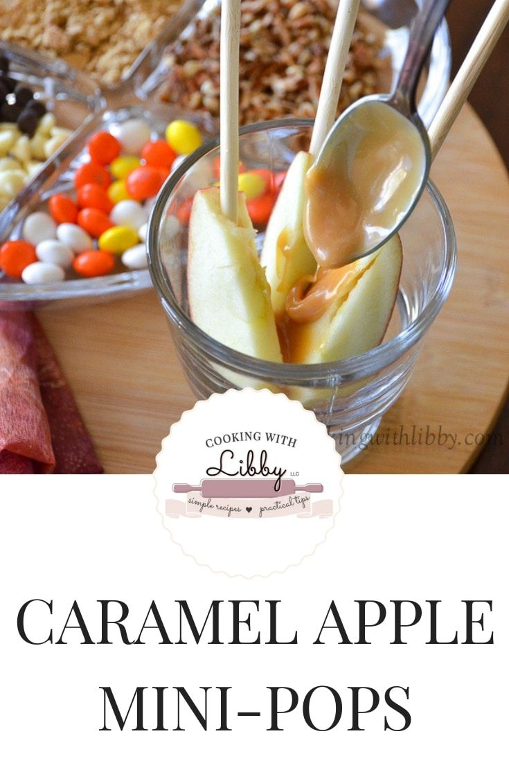 Diese Caramel Apple Mini-Pops sind wie die originalen Caramel Apple Pops …   – RECIPES
