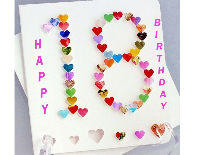 124 best happy birthday images on pinterest happy birthday top 418 birthday wishes card messages for 18 year olds an eighteenth birthday is a big milestone in a teenagers life bookmarktalkfo Gallery