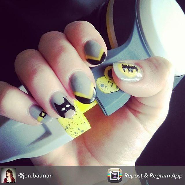 Repost from @jen.batman using @RepostRegramApp - #embellishednails is such an…