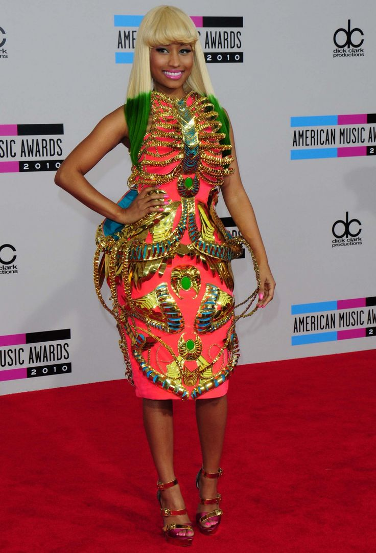 Fashion in the 2000s images amp pictures becuo - Nicky Minaj Wearing Manish Arora At The American Music Awards