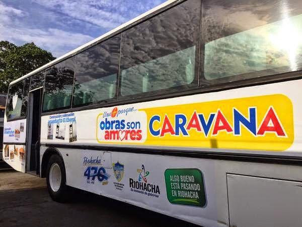 Alcaldía de Riohacha llega con 'Caravana de Obras' a la zona indígena