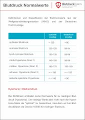 Puls Normalwerte | BlutdruckDaten-Lexikon