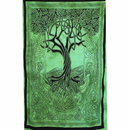 Tenture Arbre de vie Celte (Vert)