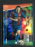 2006-07 Panini WCCF Crack Lionel Messi Rare Refractor card Barcelona