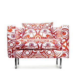Recliner Sofa Boutique Eyes of Strangers by Marcel Wanders