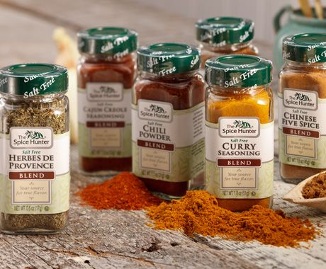 LOVE <3 Love these salt free blends from The Spice Hunter!