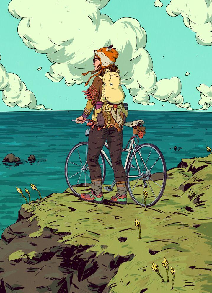 ARTIST SPOTLIGHT: Pius Bak. Fox Hat > Brilliant #illustration by this…