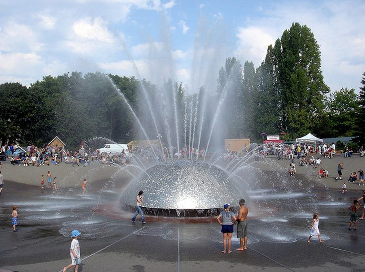Seattle Center Fountain - Seattle, Washington