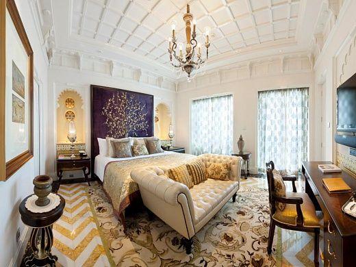 Самые роскошные спальни и номера мира