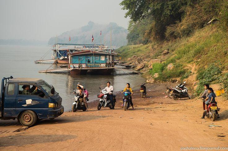 Лаосская культурная деревня: рынок, монастырь и детский труд : pashalena