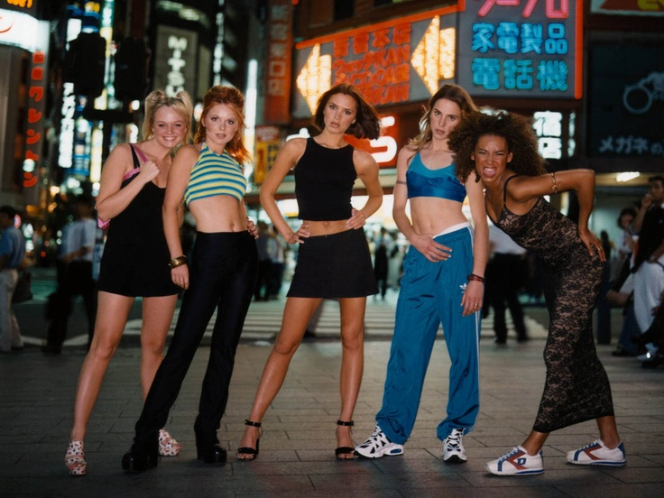 The 90s were the best. If you're under the age of 30 you know you and your friends dressed up like the Spice Girls during at least one sleepover in your life. I was Posh. Which one were you? #girlpower #spicegirls #spiceupyourlife