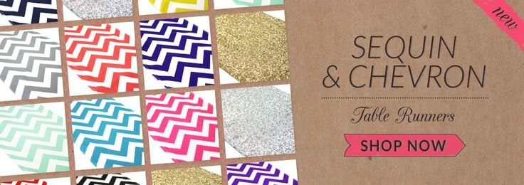 News about The Koyal Group Wholesale new Arrivals-Corona, CA – September 20th, 2013 – Just in time for the busy holiday season, Koyal Wholesale announces the brand new launch of its all new Chevron Table Runner and Sequin Table Runner Collections.
