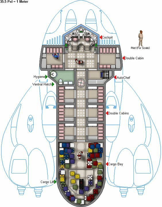 Star Wars Ship Floor Plans Part - 39: In My Universe These Ships Are As Happy Underwater As They Are In Space. G  Mcl 18 Sl