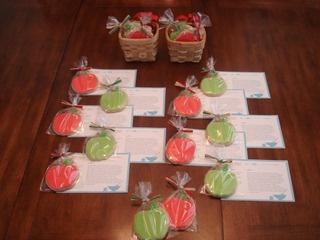 teacher appreciation giftSugar Cookies, Appreciation Cookies, Cookies W Gift, Apples Cookies, Appreciation Gift, Cookies Recipe, Sugar Cookie Recipes