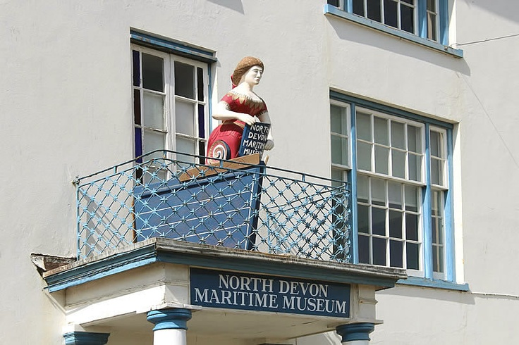 North Devon Maritime Museum, Appledore, North Devon, England #appledore #holidaycottages #appledorebookfestival