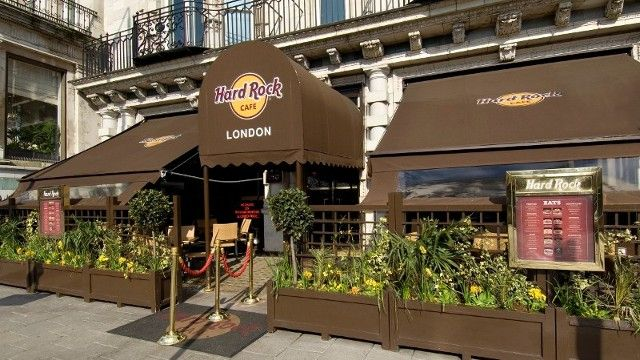 The Hard Rock Cafe has been standing on Old Park Lane in London since 1971 and offers the best authentic American cuisine and the most valued collection of rock 'n' roll memorabilia in the world.