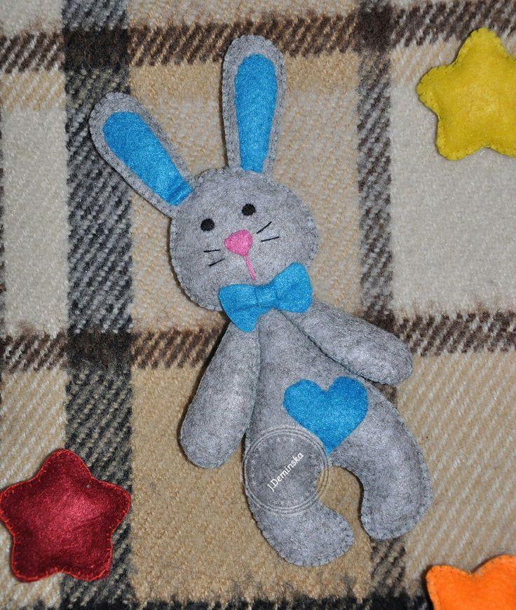 Фетровый зайчик Изготовление игрушек