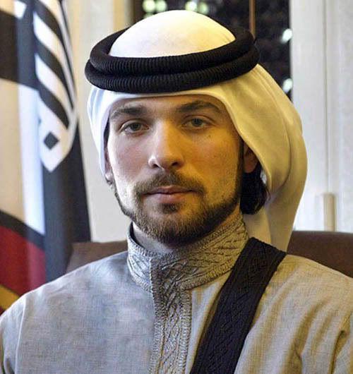 Prince Hashim bin Al Hussein - son of  King Hussein and Queen Noor
