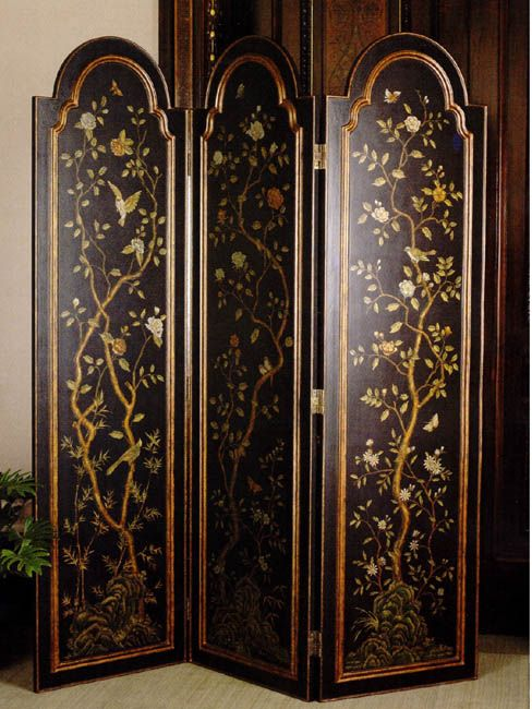 30 best images about screens folding screens privacy for Painted screens room dividers