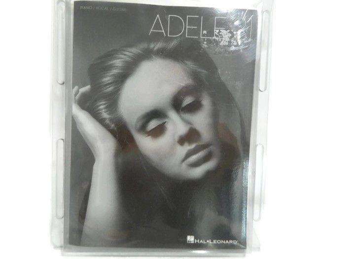 Adele 21 Song Book Piano Vocal Guitar Music Sheet Lyrics Book New