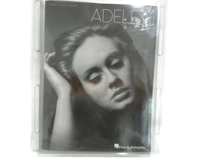 Adele 21 Song Book Piano Vocal Guitar Music Sheet Lyrics Book New