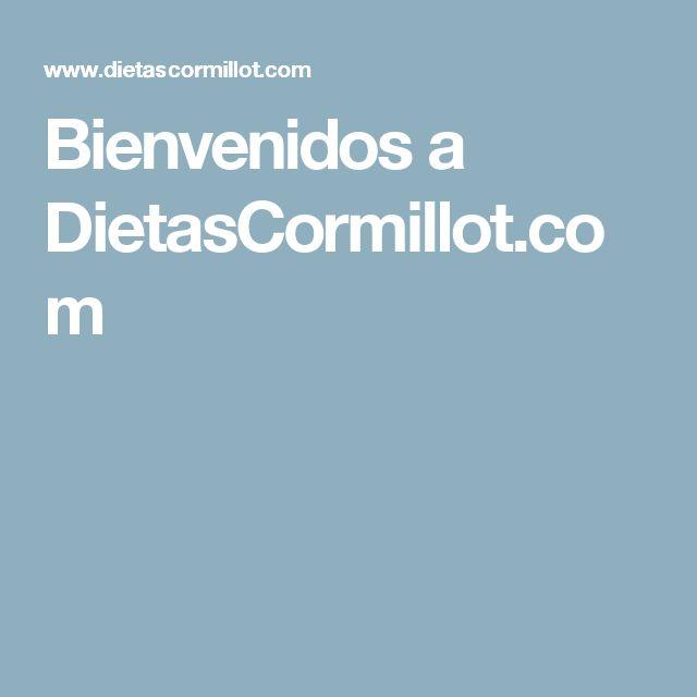 Bienvenidos a DietasCormillot.com