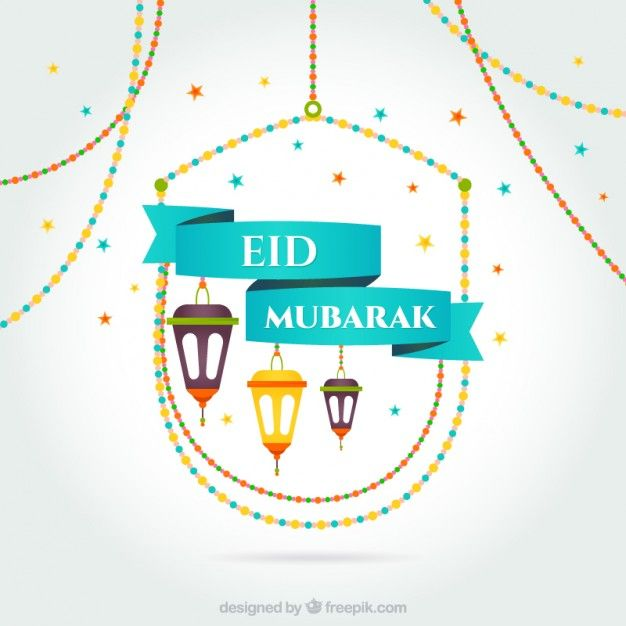 Cartão Eid Mubarak