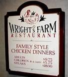 wrights chicken farm
