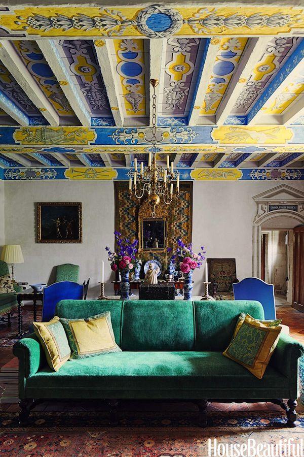 William Christie's abode in France