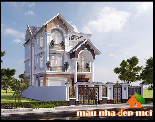 Thiết kế biệt thự 3 tầng đẹp 360m2 mái thái phong cách Victoria huyền thoại tại TP. Long Xuyên-An Giang  http://maunhadepmoi.net/thiet-ke-biet-thu-3-tang-dep-360m2-mai-thai-phong-cach-victoria-huyen-thoai-tai-tp-long-xuyen-an-giang.html