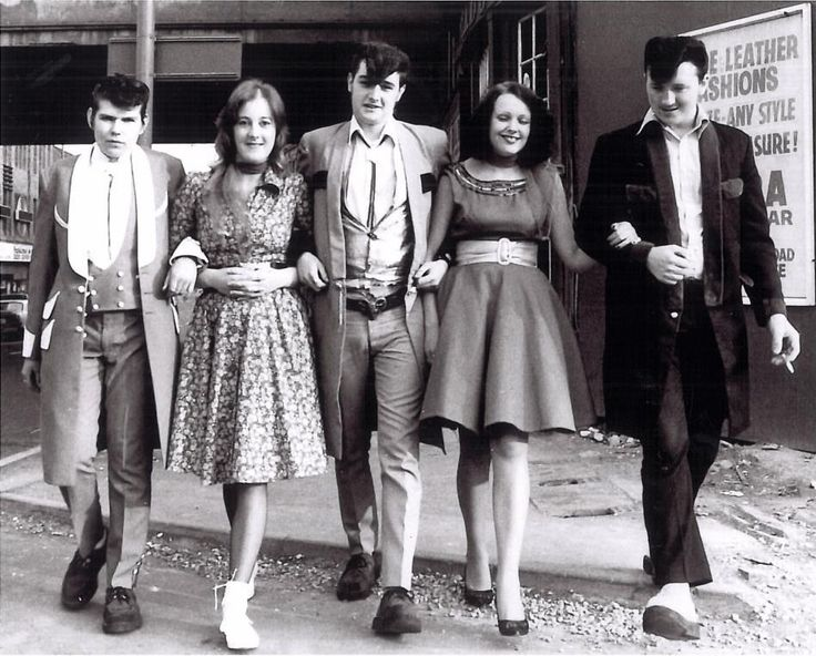 Fantastic archive pictures of Teddy Boys and girls from the '50s to the noughties