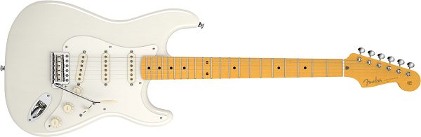 The Fender Stratocaster guitar turns 60 this year. Its well-known shape was used to design the Stratobaffle speakers.