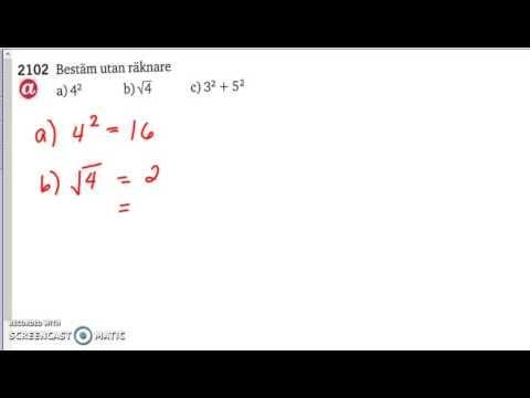 Matematik 5000 Ma 2a - Kapitel 2 - Algebra och ickelinjära modeller (all...