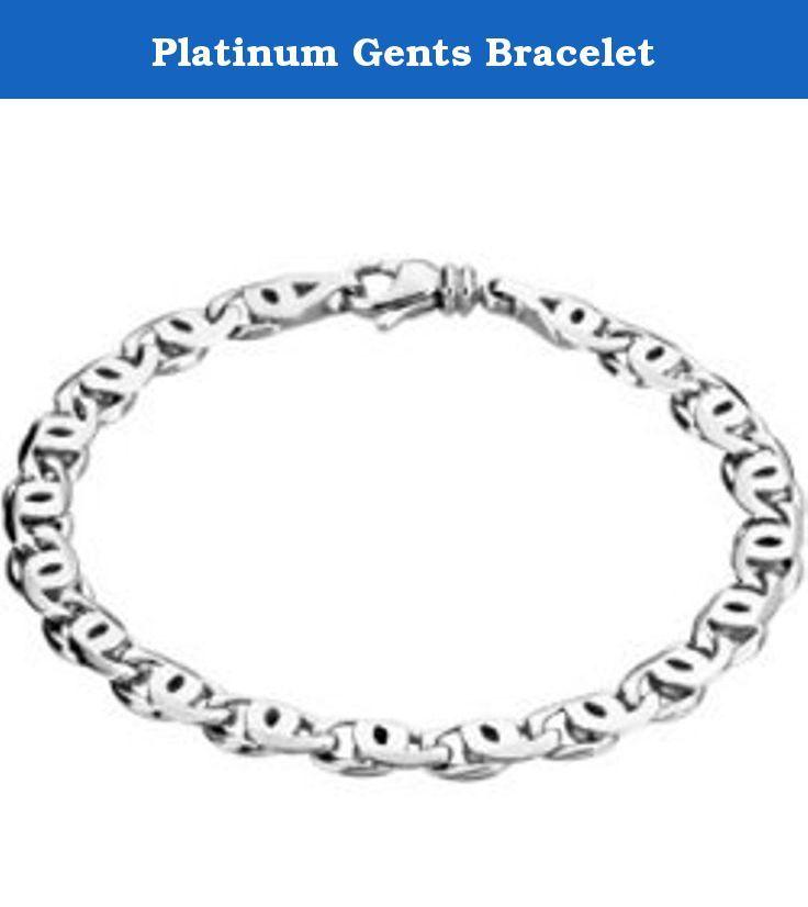 Platinum Gents Bracelet. Platinum Gents Bracelet.